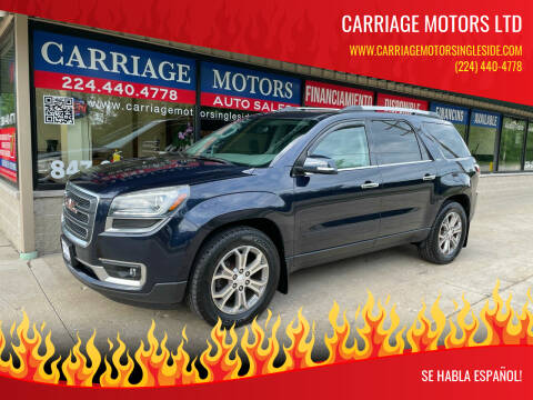2015 GMC Acadia for sale at Carriage Motors LTD in Ingleside IL