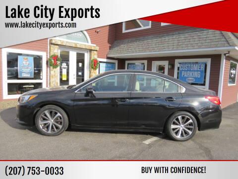 2015 Subaru Legacy for sale at Lake City Exports - Lewiston in Lewiston ME