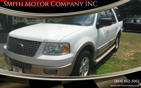 2006 Ford Expedition for sale at Smith Motor Company INC in Mc Cormick SC