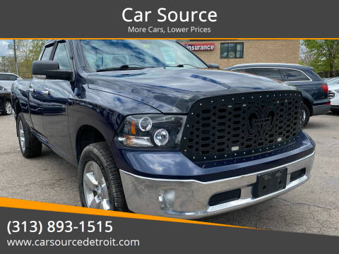 2013 RAM Ram Pickup 1500 for sale at Car Source in Detroit MI