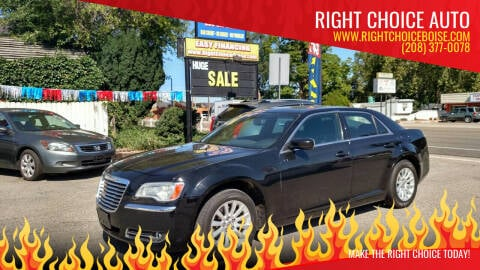 2012 Chrysler 300 for sale at Right Choice Auto in Boise ID