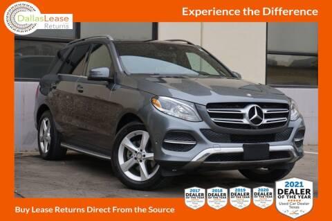 2017 Mercedes-Benz GLE for sale at Dallas Auto Finance in Dallas TX