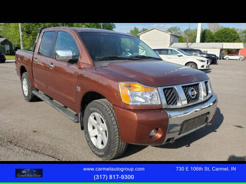 2004 Nissan Titan for sale at Carmel Auto Group in Indianapolis IN