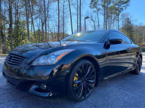 2012 Infiniti G37 Coupe for sale at Top Notch Luxury Motors in Decatur GA