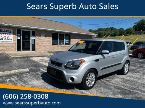 2013 Kia Soul for sale at Sears Superb Auto Sales in Corbin KY