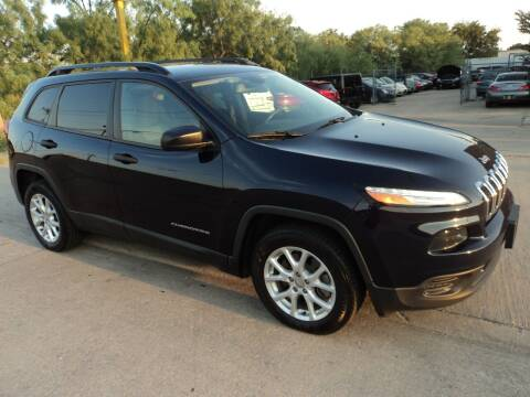 2016 Jeep Cherokee for sale at SPORT CITY MOTORS in Dallas TX