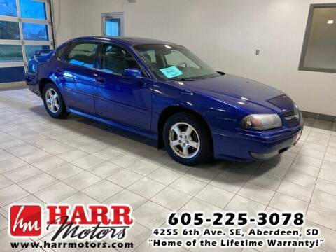 2005 Chevrolet Impala for sale at Harr Motors Bargain Center in Aberdeen SD