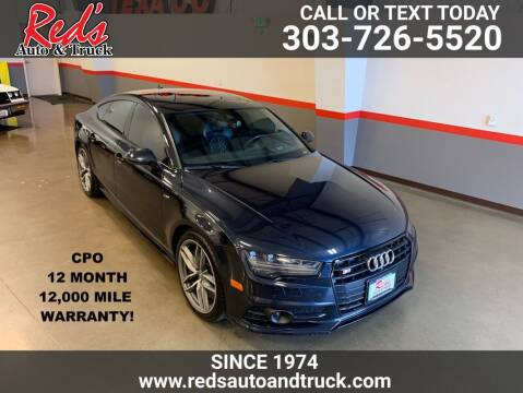 2016 Audi S7 for sale at Red's Auto and Truck in Longmont CO