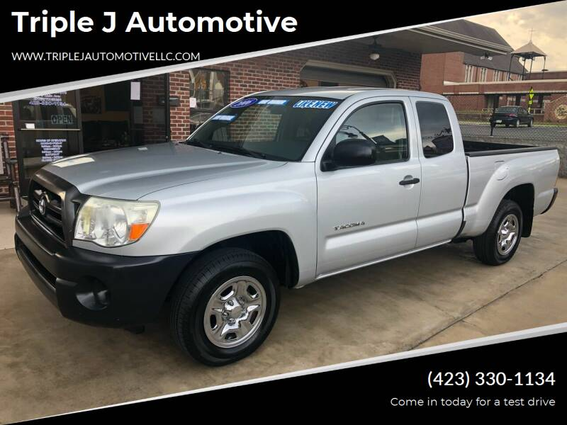 2006 Toyota Tacoma for sale at Triple J Automotive in Erwin TN