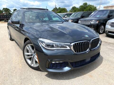 2017 BMW 7 Series for sale at KAYALAR MOTORS in Houston TX