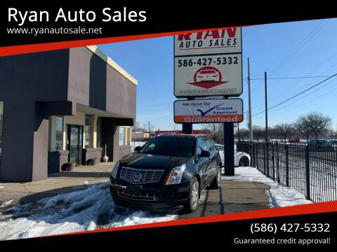 2014 Cadillac SRX for sale at Ryan Auto Sales in Warren MI