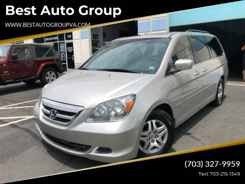 2007 Honda Odyssey for sale at Best Auto Group in Chantilly VA