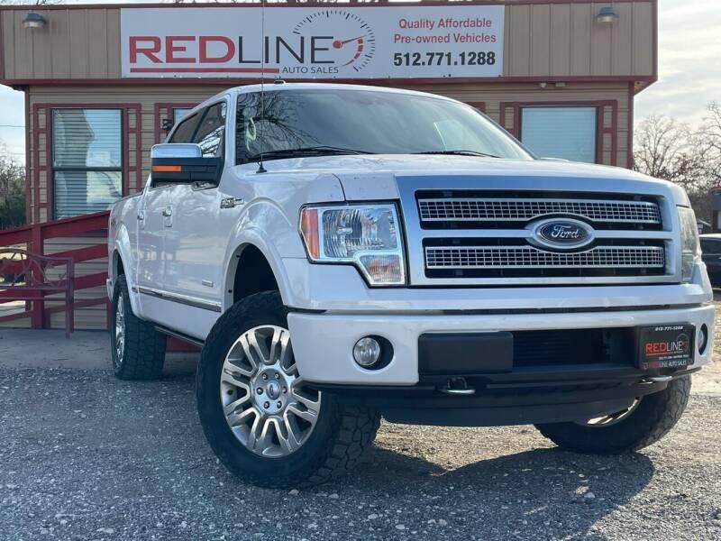 2012 Ford F-150 for sale at REDLINE AUTO SALES LLC in Cedar Creek TX