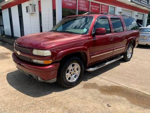 2003 Chevrolet Suburban for sale at C & P Autos, Inc. in Ruston LA