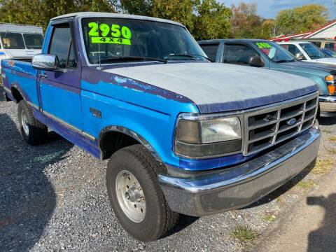 1995 Ford F-150 for sale at Rocket Center Auto Sales in Mount Carmel TN