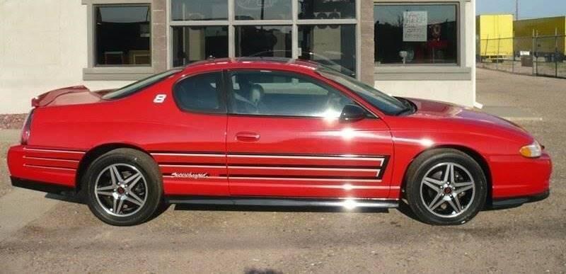 2004 Chevrolet Monte Carlo for sale at STEVE'S AUTO SALES INC - Regular Inventory in Scottsbluff NE