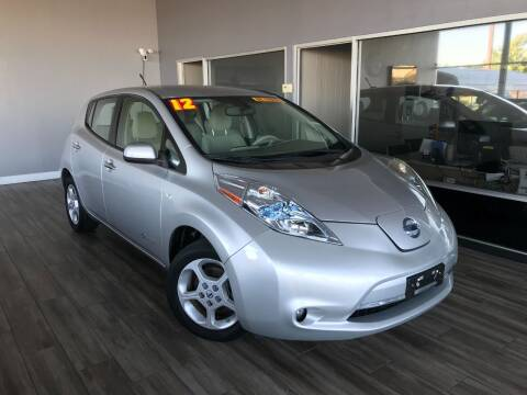 2012 Nissan LEAF for sale at Golden State Auto Inc. in Rancho Cordova CA