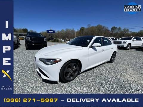 2017 Alfa Romeo Giulia for sale at Impex Auto Sales in Greensboro NC
