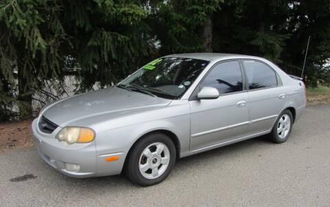 2002 Kia Spectra for sale at B & C Northwest Auto Sales in Olympia WA