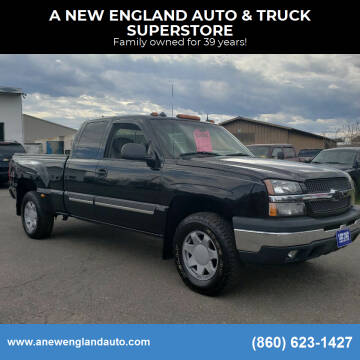2003 Chevrolet Silverado 1500 for sale at A NEW ENGLAND AUTO & TRUCK SUPERSTORE in East Windsor CT
