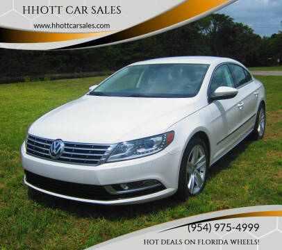2013 Volkswagen CC for sale at HHOTT CAR SALES in Deerfield Beach FL