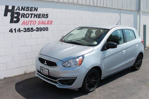2019 Mitsubishi Mirage for sale at HANSEN BROTHERS AUTO SALES in Milwaukee WI