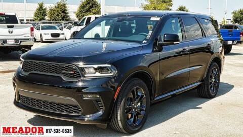 2021 Dodge Durango for sale at Meador Dodge Chrysler Jeep RAM in Fort Worth TX