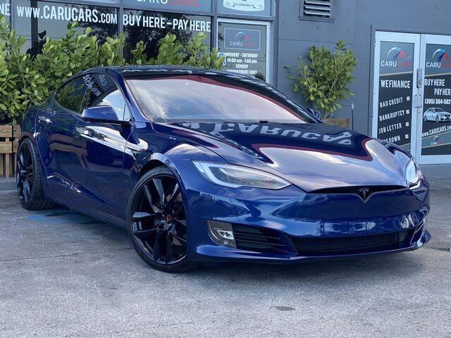 2017 Tesla Model S for sale at CARUCARS LLC in Miami FL