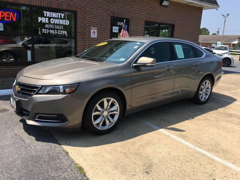2019 Chevrolet Impala for sale at Bankruptcy Car Financing in Norfolk VA