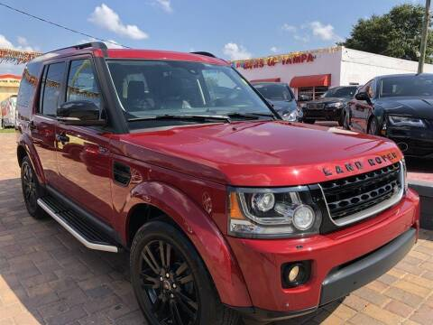 2015 Land Rover LR4 for sale at Cars of Tampa in Tampa FL
