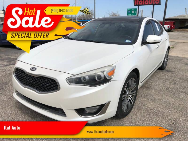2014 Kia Cadenza for sale at Ital Auto in Oklahoma City OK