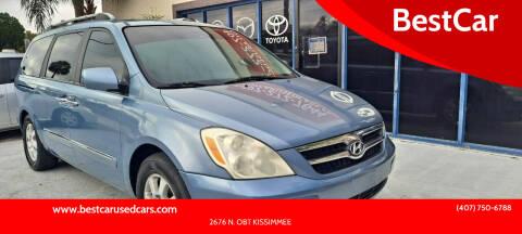 2007 Hyundai Entourage for sale at BestCar in Kissimmee FL
