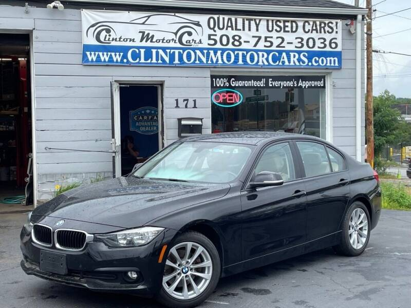 2017 BMW 3 Series for sale at Clinton MotorCars in Shrewsbury MA