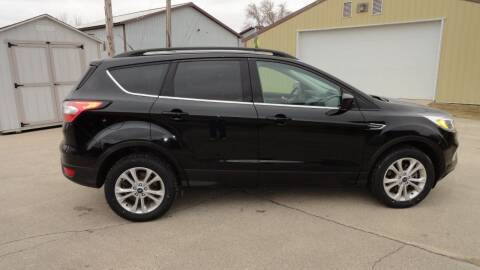 2018 Ford Escape for sale at CENTER AVENUE AUTO SALES in Brodhead WI