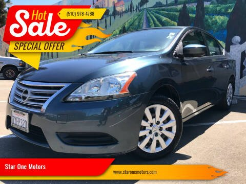 2015 Nissan Sentra for sale at Star One Motors in Hayward CA