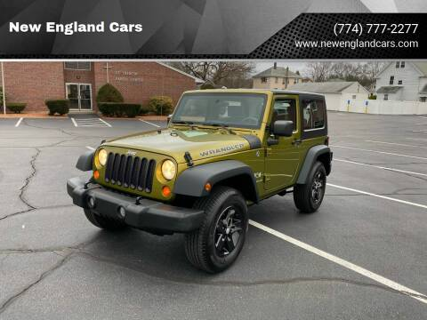 2008 Jeep Wrangler for sale at New England Cars in Attleboro MA