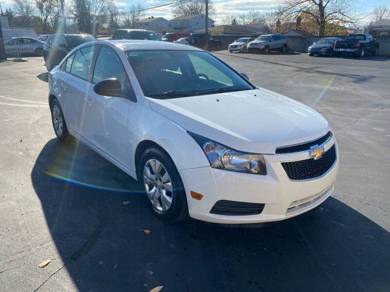 2014 Chevrolet Cruze for sale at My Town Auto Sales in Madison Heights MI