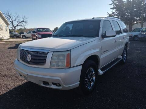 2002 Cadillac Escalade for sale at Bennett's Auto Solutions in Cheyenne WY