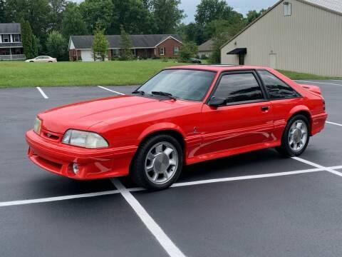 1993 Ford Mustang SVT Cobra for sale at Dittmar Auto Dealer LLC in Dayton OH