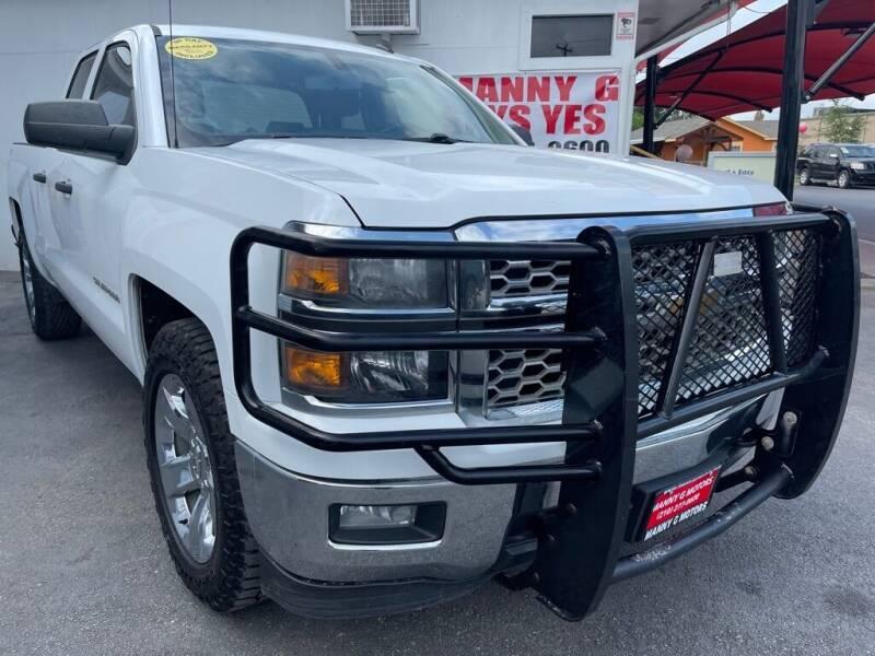 2014 Chevrolet Silverado 1500 for sale at Manny G Motors in San Antonio TX