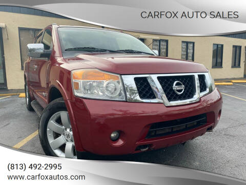 2008 Nissan Armada for sale at Carfox Auto Sales in Tampa FL