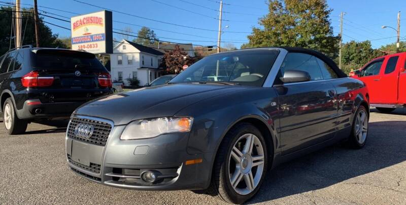 2007 Audi A4 for sale at Beachside Motors, Inc. in Ludlow MA