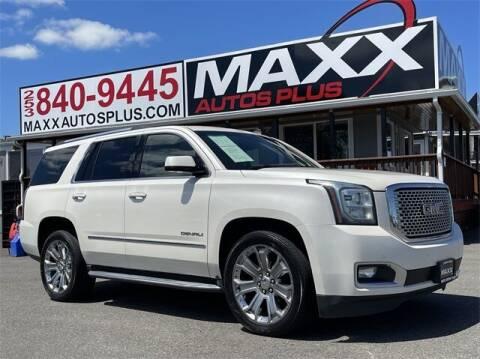 2015 GMC Yukon for sale at Maxx Autos Plus in Puyallup WA