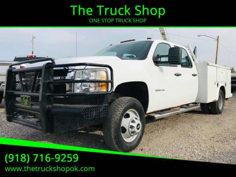 2011 Chevrolet Silverado 3500HD for sale at The Truck Shop in Okemah OK