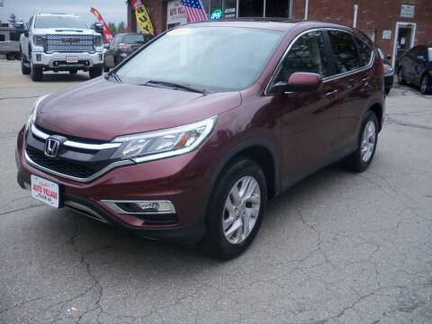 2015 Honda CR-V for sale at Charlies Auto Village in Pelham NH