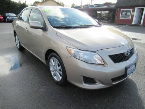 2010 Toyota Corolla for sale at Tonys Toys and Trucks in Santa Rosa CA