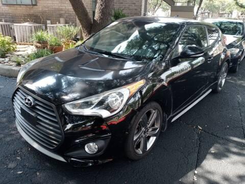 2015 Hyundai Veloster for sale at RICKY'S AUTOPLEX in San Antonio TX