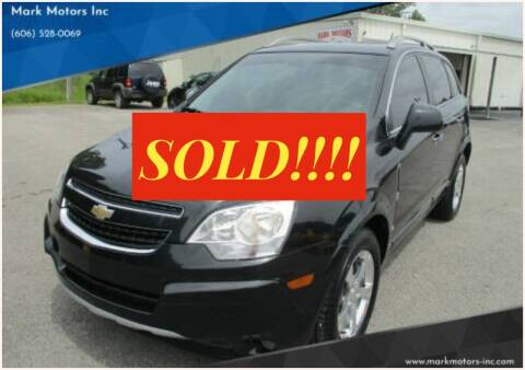 2014 Chevrolet Captiva Sport for sale at Mark Motors Inc in Gray KY