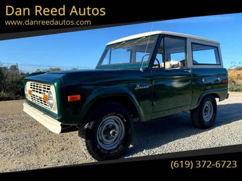 1976 Ford Bronco for sale at Dan Reed Autos in Escondido CA