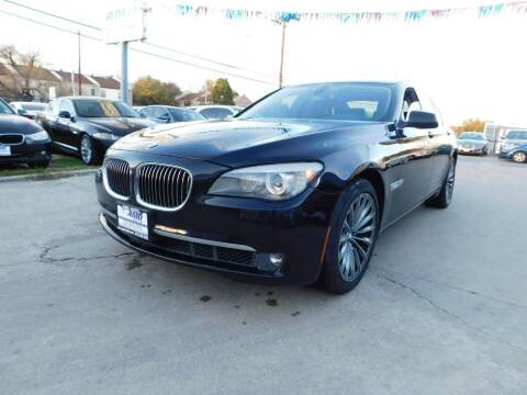 2012 BMW 7 Series for sale at AMD AUTO in San Antonio TX